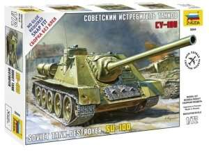 Soviet Tank Destroyer SU-100 in scale 1-72