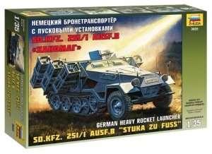 Zvezda 3625 Sd.Kfz.251/1 Ausf.B Stuka zu Fuss