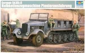 German Sd.Kfz. 6 Halbkettenzugmaschine Pionierausführung