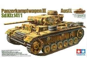Tank Panzerkampfwagen III ausf. L in scale 1-35
