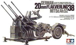 Tamiya 35091 German 20mm Flakvierling 38