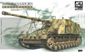 Sd.Kfz.164 Nashorn in scale 1-35