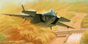 Chinese J-20 Mighty Dragon in scale 1-72 Trumpeter 01665