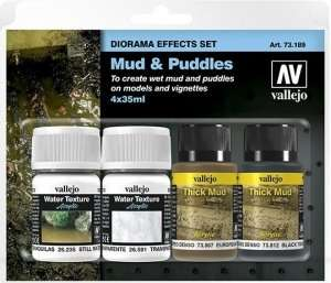 Diorama effects set - Mud and Puddles Vallejo 73189