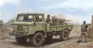 Russian GAZ-66 Light Truck  in scale 1-35 Trumpeter 01017