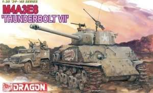 Model Tank Sherman M4A3E8 Thunderbolt VII Dragon 6183