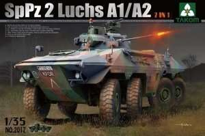 Bundeswehr SpPz 2 Luchs A1/A2 2in1 in scale 1-35