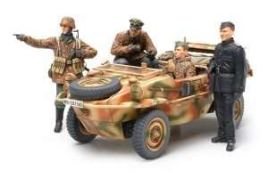 German Panzer Division in scale 1-35