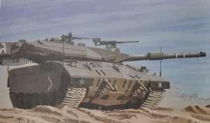 Meng TS-025 Israel Tank Merkava Mk. 3D Late Lic