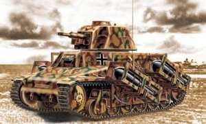 Tank model Hotchkiss H39, Trumpeter 00352