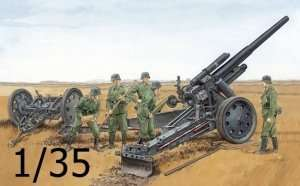 Dragon 6392 German sFH18 Howitzer w/Limber