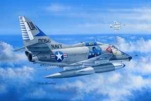 A-4E Sky Hawk in scale 1-48