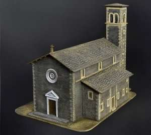 Church in scale 1-72 Italeri 6174