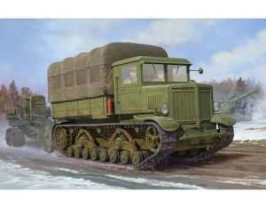 Russian Voroshilovets Tractor in scale 1-35