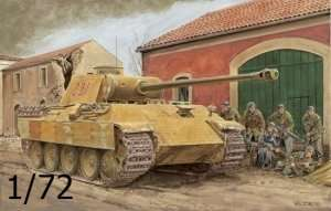 Dragon 7499 Tank Panther Ausf.A Early Production