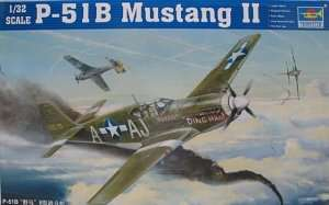 WWII fighter P-51B Mustang II Trumpeter 02274