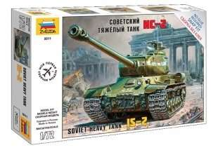 IS-2 Stalin in scale 1-72 Zvezda 5011
