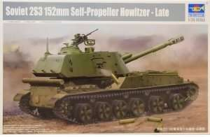 Model samobieżnej haubicy 2S3 152mm Trumpeter 05567
