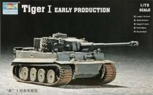 Tank Tiger I Early Production Trumpeter 07242