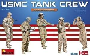 USMC tank crew in scale 1-35 MiniArt 37008