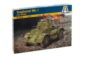 Staghound Mk.I late version in scale 1-35 Italeri 6552