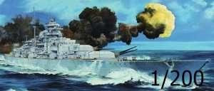 German Battleship Bismarck - Trumpeter 03702