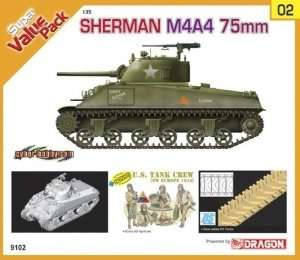 Dragon 9102 Sherman M4A4 75 mm