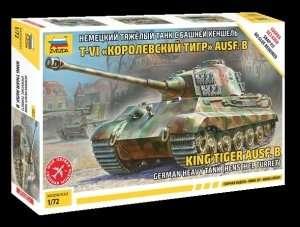 Heavy Tank King Tiger Ausf.B in scale 1-72