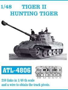 Metal track for Tiger II - Hunting Tiger in scale 1-48