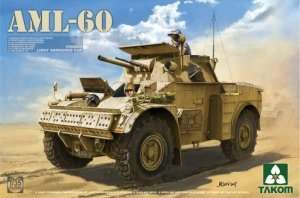 AML-60 Light Armoured Car in scale 1-35