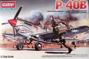 Model Academy 12456 Curtiss P-40B Tomahawk