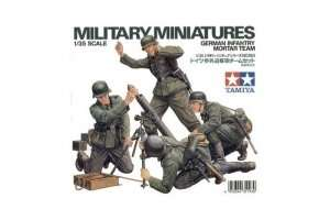 Model German Infantry Mortar team scale 1-35