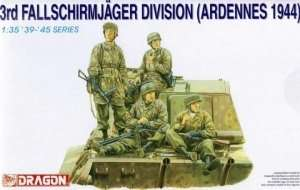 3rd Fallschirmjager Division in scale 1-35