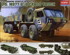 U.S. M977 8x8 Cargo Truck in scale 1-72 Academy 13412