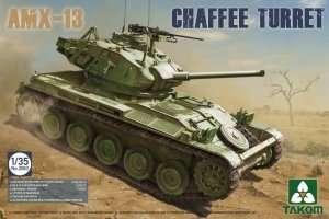 Tank model AMX-13 Chaffee Turret Takom 2063