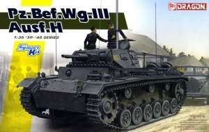Dragon 6844 German Tank Pz.Bef.Wg.III ausf.H in scale 1-35