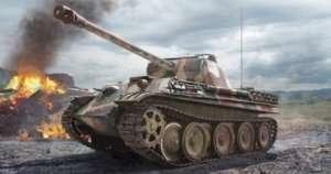 Italeri 6534 Tank Pz.Kpfw. V Panther Ausf. D Late