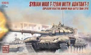 T-72BM with Kontakt-1 in scale 1-72 - Modelcollect UA72082