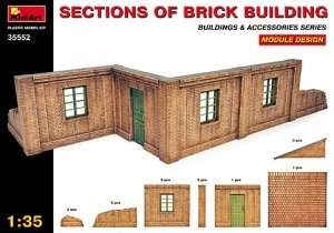 MiniArt 35552 Sections of Brick Building