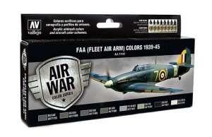 Vallejo 71147 Zestaw 8 farb - FAA (Fleet Air ARM) Colors 1939-45