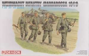 Figure Wehrmacht Infantry - Barbarossa 1941 in scale 1-35 Dragon 6105
