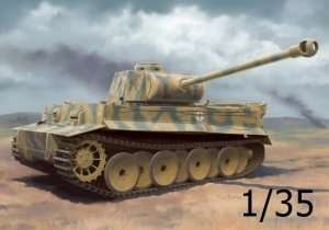 Tank Tiger I Ausf. H2 7.5cm KwK 42 in scale 1-35