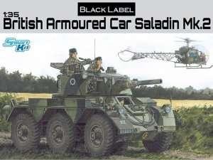 British Armored Car Saladin Mk.2 in scale 1-35