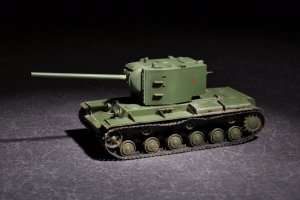 Russian KV-2 with 107mm zis-6 in scale 1-72
