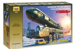 Zvezda 5003 Ballistic Missile Launcher Topol