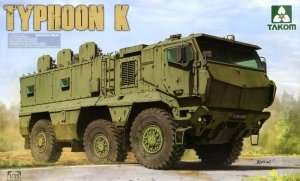 Rusian MRAP Typhoon K in scale 1-35