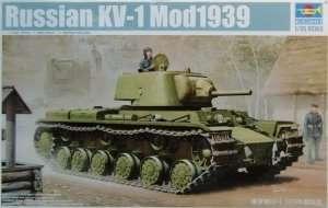 Soviet heavy tank KV-1 1939 Trumpeter 01561