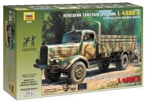 Zvezda 3596 Heavy German Cargo Truck L 4500 S