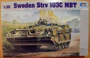 Swedish tank model STRV 103C Trumpeter 00310