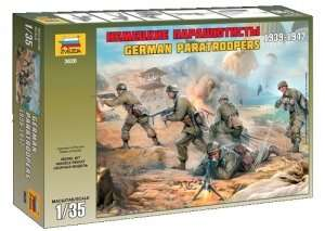 German Paratroopers 1939-1942 in scale 1-35 Zvezda 3628